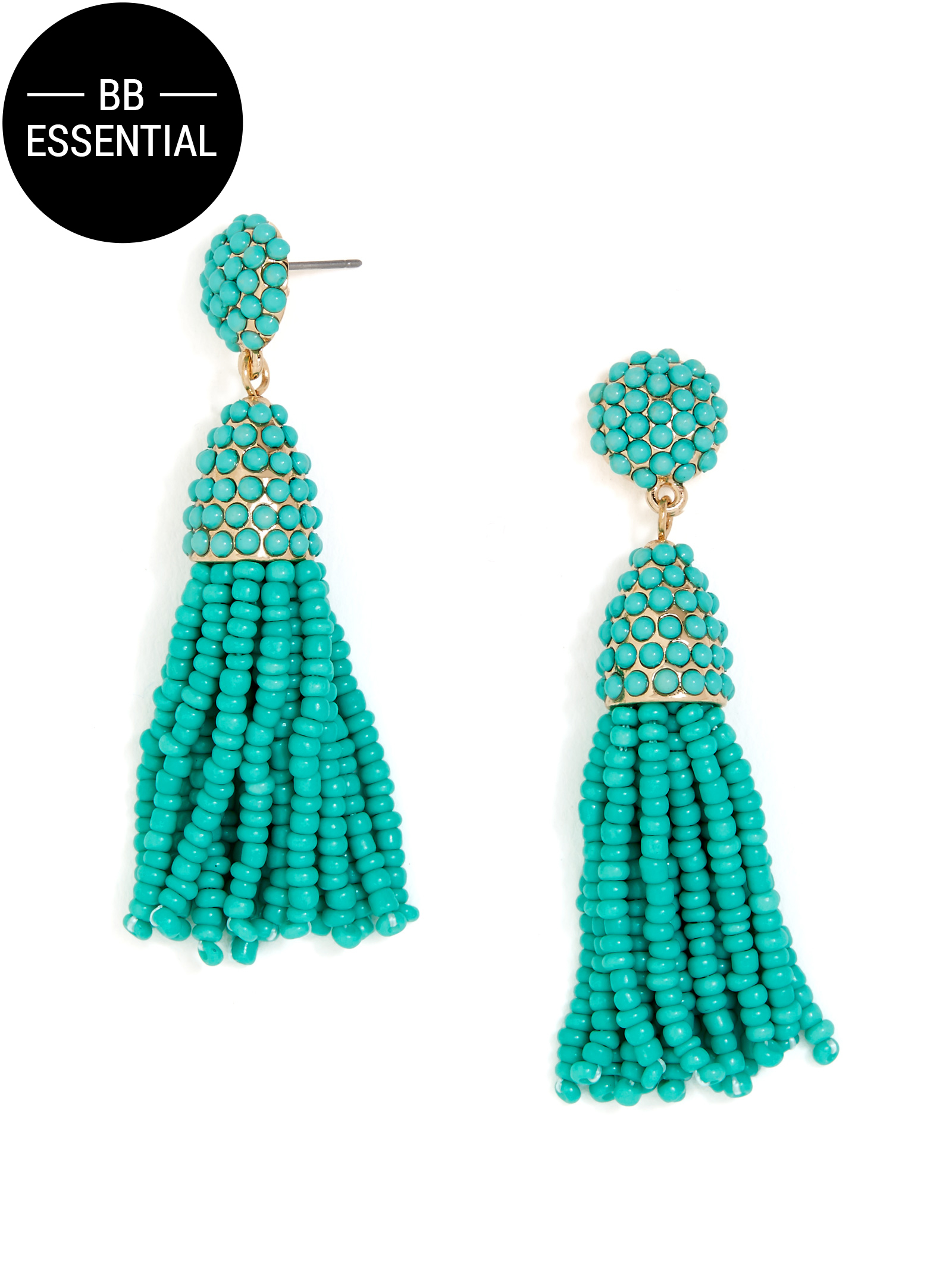 Mini Pinata Tassel Drops-Sea Green