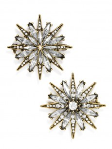 North Star Brooch Set