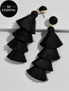 Picture of Gabriela Stud Tassel Earrings